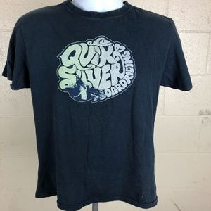 Quiksilver Men's T-shirt Size S Blue QB25